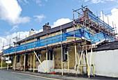Domestic external wall insulation