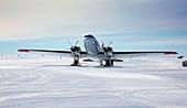 DC3 at Union Glacier,Antarctica