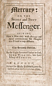 'Mercury' (1694)