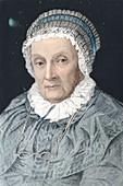 1848 Portrait of Caroline Herschel colour