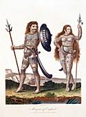 1804 Ancient Britons Celts or Pict