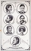 1880 Winchell preadamites racist science