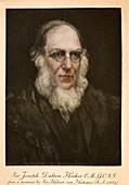 1889 Joseph Hooker Botanist Kew darwin