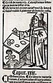 1491 Medieval apothecary Hortus Sanitatis