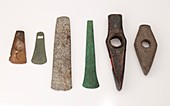 Metal and stone imitation in prehistory