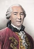 1761 Contemporary Portrait Comte Buffon
