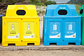 Recycling bins,South Africa