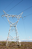 Power lines,South Africa