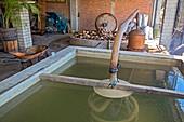Mezcal distillery,Mexico
