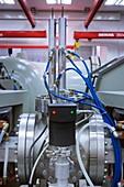 Radiocarbon mass spectrometer (AMS)