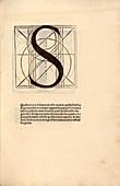 Geometrical letter 'S',16th century