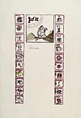 Aztec month Tecuilhuitontli,16th century