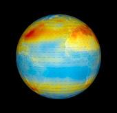 Carbon dioxide levels,Atlantic,2003
