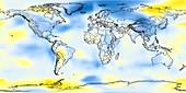 Global temperature anomalies 1966-1970