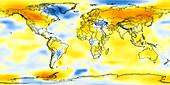 Global temperature anomalies 1986-1990