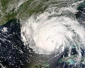 Hurricane Gustav,31st August 2008