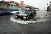 Hurricane Dean flooding