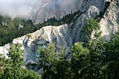 Ancient landslide