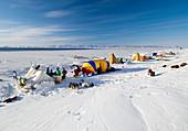 Seal hunting base camp,Greenland