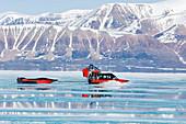 Arctic transport,Baffin Island,Canada