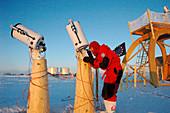 Astronomy at Concordia base,Antarctica