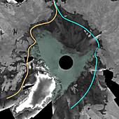 Open Northwest Passage,Arctic,2007