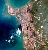 Thai coastline after 2004 tsunami