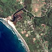 Indonesian coastline,before 2004 tsunami