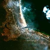 Little Andaman Islands after 2004 tsunami