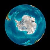 Southern Ocean,seafloor map