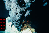 Black smoker hydrothermal vent
