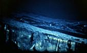Lava flow,deep sea vent