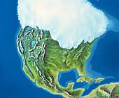 North American glaciation