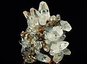 Specimen of calcite crystal mined in Cumbria