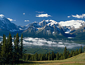 Mountains in Banff National Park,Alberta,Canada