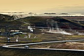 Geothermal activity,Iceland