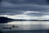 Lake Tornetrask,Sweden