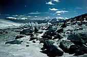 Neve penitentes in Puna de Atacama,Chile