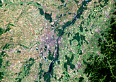 Strasbourg,satellite image