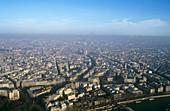 Air pollution over Paris