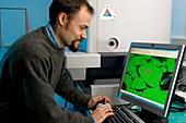 Nanomaterials pollution research