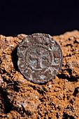 Medieval silver coin