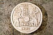 Mayan ballcourt marker