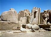 Ancient Egyptian ruins at Karnak