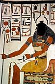 Egyptian god Khepri