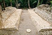 Mayan ballcourt
