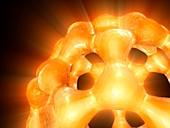 Buckyball,C60 Buckminsterfullerene