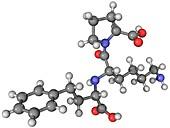 Lisinopril ACE inhibitor molecule