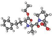 Enalapril ACE inhibitor molecule