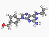 Abacavir drug molecule